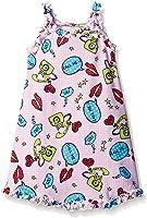 Sara's Prints Girls' Ruffle Tank Nightgown