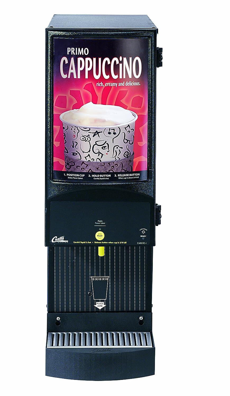 Wilbur Curtis Café Primo Cappuccino System 1 Station Cappuccino (7 Lb Hopper) - Commercial Cappuccino Machine - CAFEPC1CS10000 (Each)