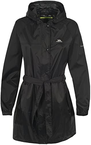 Trespass Women's Compac Mac Waterproof Compact Packaway Jacket, Khaki, 2X-Large