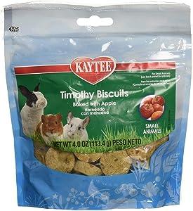Kaytee (6 Pack) Timothy Hay Baked Apple Small Animal Treats, 4-Ounce