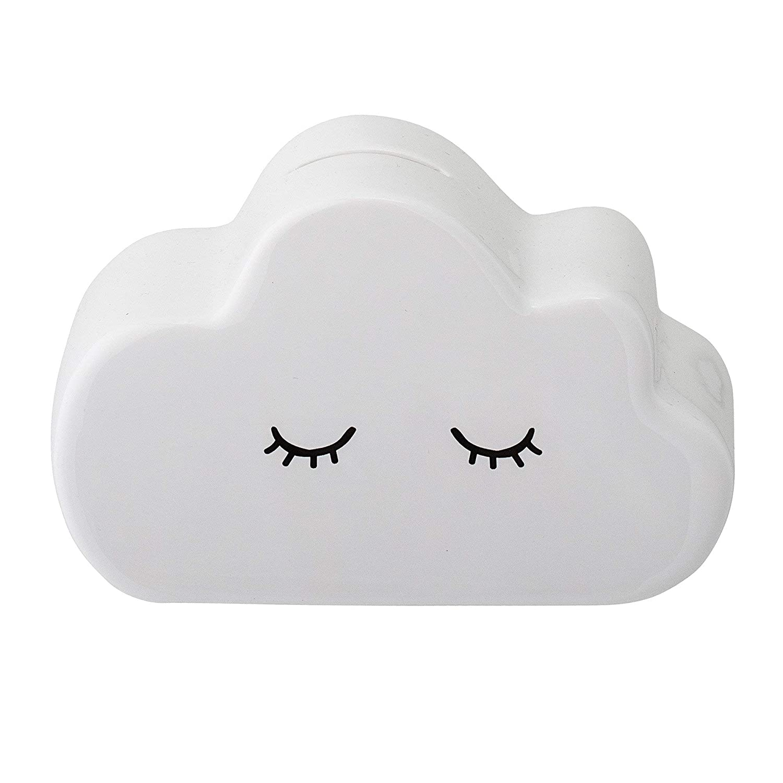 lunghezza x altezza x larghezza dimensioni: 15 x 9 x 9 cm SoulSisters Living Salvadanaio a forma di nuvola dolce
