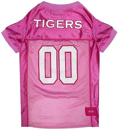 f6581ad0416 Amazon.com : NCAA Auburn Tigers Dog Pink Jersey, Large. - Pet Pink ...
