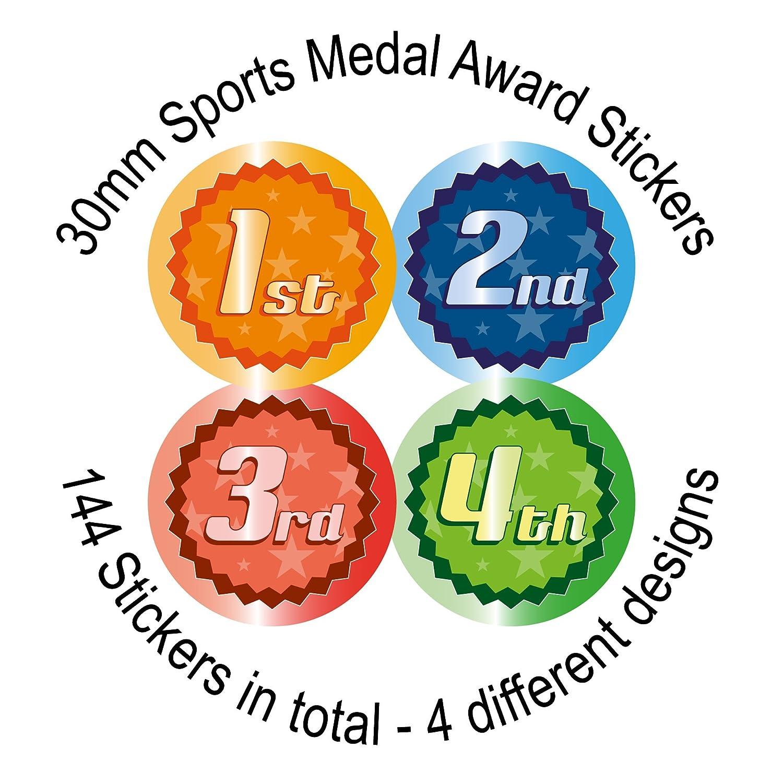 30mm Kid/'s Reward Teacher Stickers Week Its Good to be Green 144 Green Day