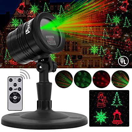 amazon com proteove christmas laser lights projector ip65