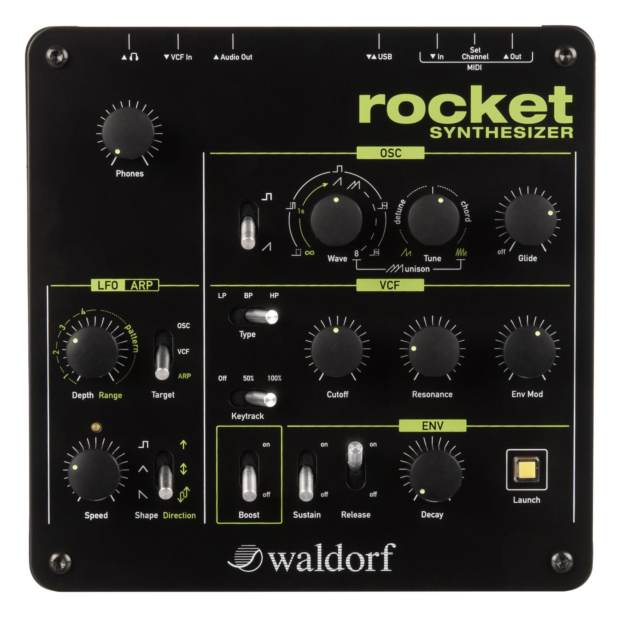 Waldorf WDF-RKT-1 Rocket Desktop Synthesizer by Waldorf
