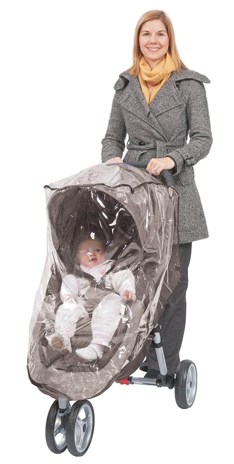Comfy Baby Stroller Raincover Weathershield Custom Made to Fit the Baby Jogger City Mini Single Stroller (Not GT)