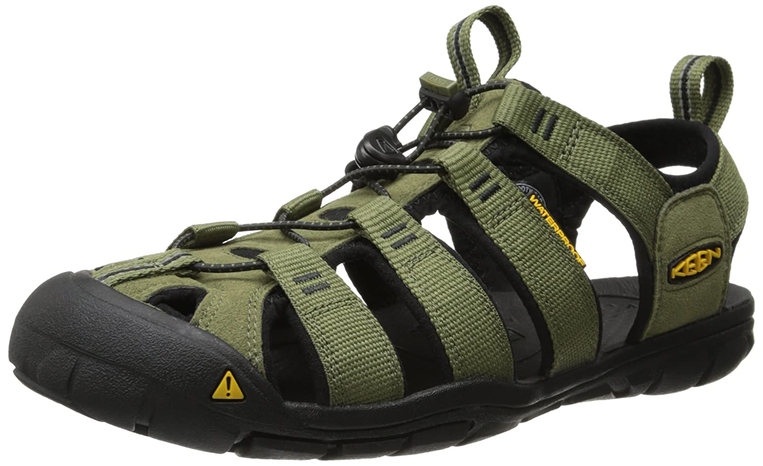 [キーン] KEEN サンダル Clearwater CNX B00LH7X6GU 11.5 mens_us Burnt Olive/Black