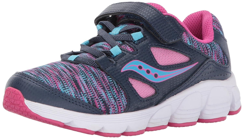 Navy  Multi 13.5 XW US Little Kid Saucony Girl's Kotaro 4 A C Running shoes