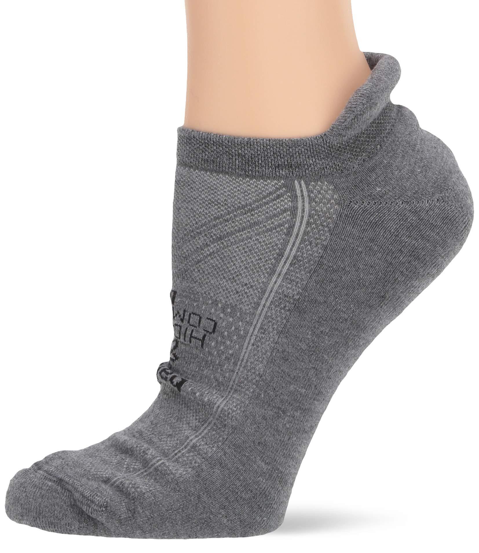 Balega Hidden Comfort No-Show Running Socks for Men and Women (1 Pair), Charcoal, Medium by Balega