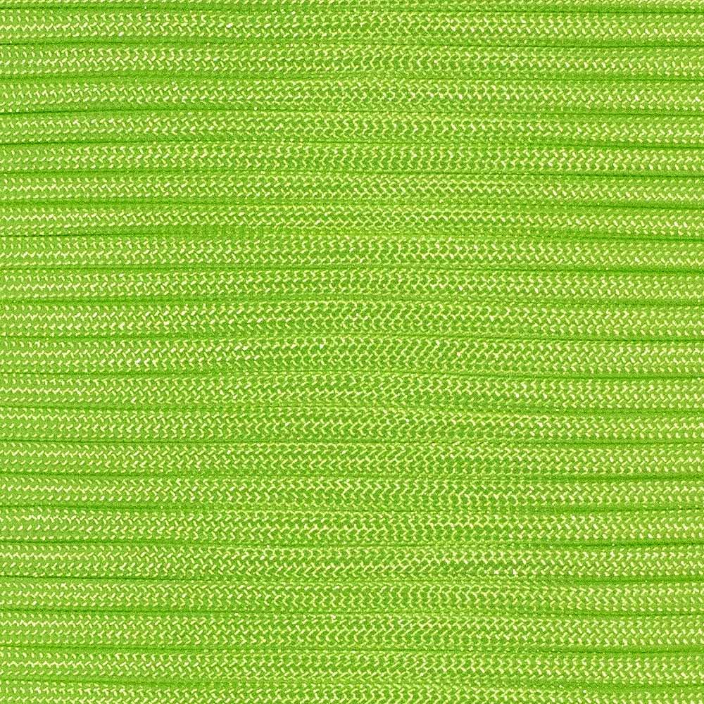 Type III 550 Paracord - Neon Green - 10' Hank - 7 Strand Core - Parachute Cord, Nylon Commercial Paracord, Survival Cord