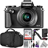 Canon PowerShot G1 X Mark III Digital Camera w/ Essential Photo and Travel Bundle
