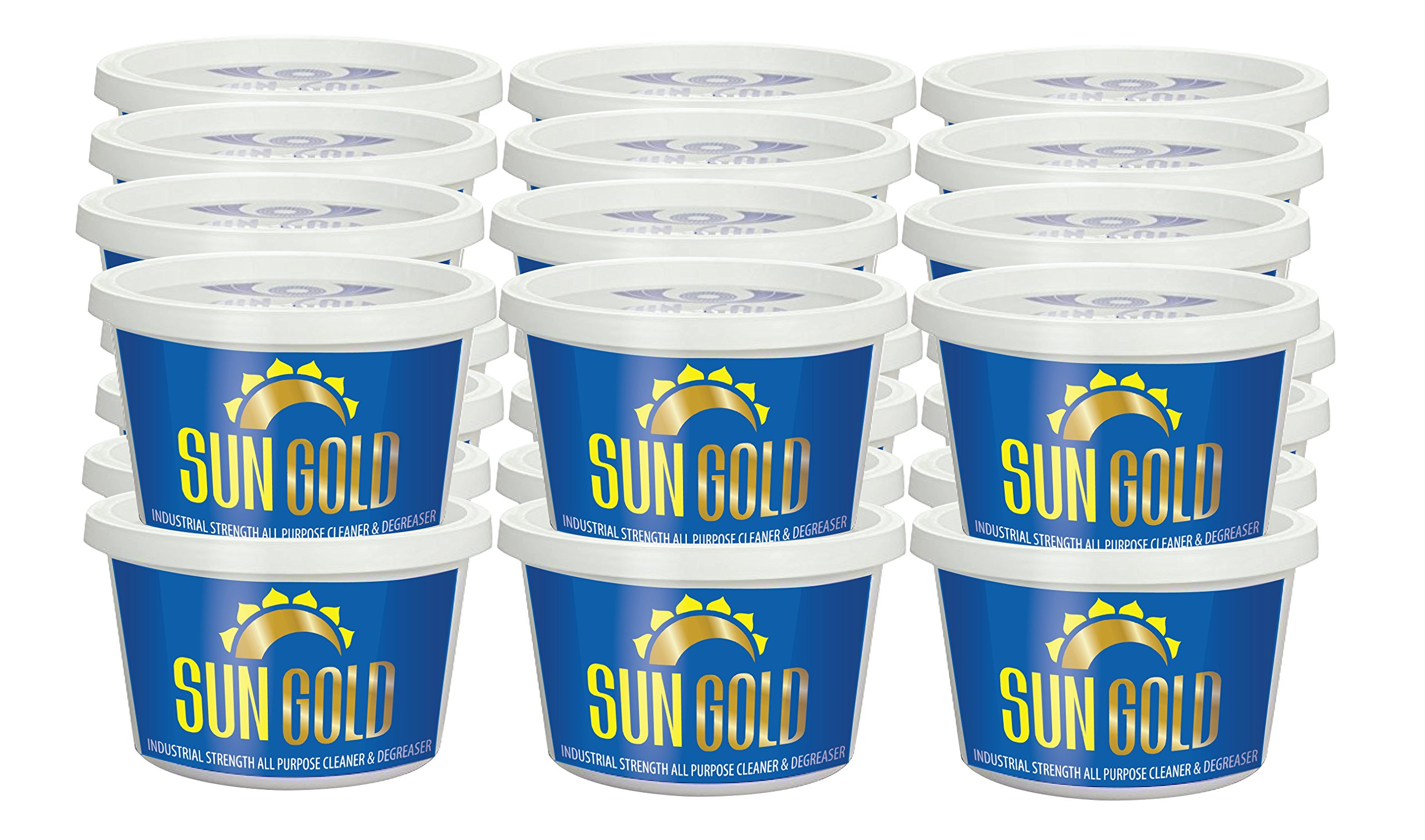 Sun Gold Manufacturing All Purpose Cleaner Super Concentrated 24 Pints [Container [A-1 Rated by NSF, USDA Certified] Safe - Non-Toxic - Biodegradable - Industrial Strength by Sun Gold Manufacturing