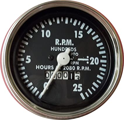 Amazon com: Massey Ferguson Tachometer for MF 1080, MF 1100