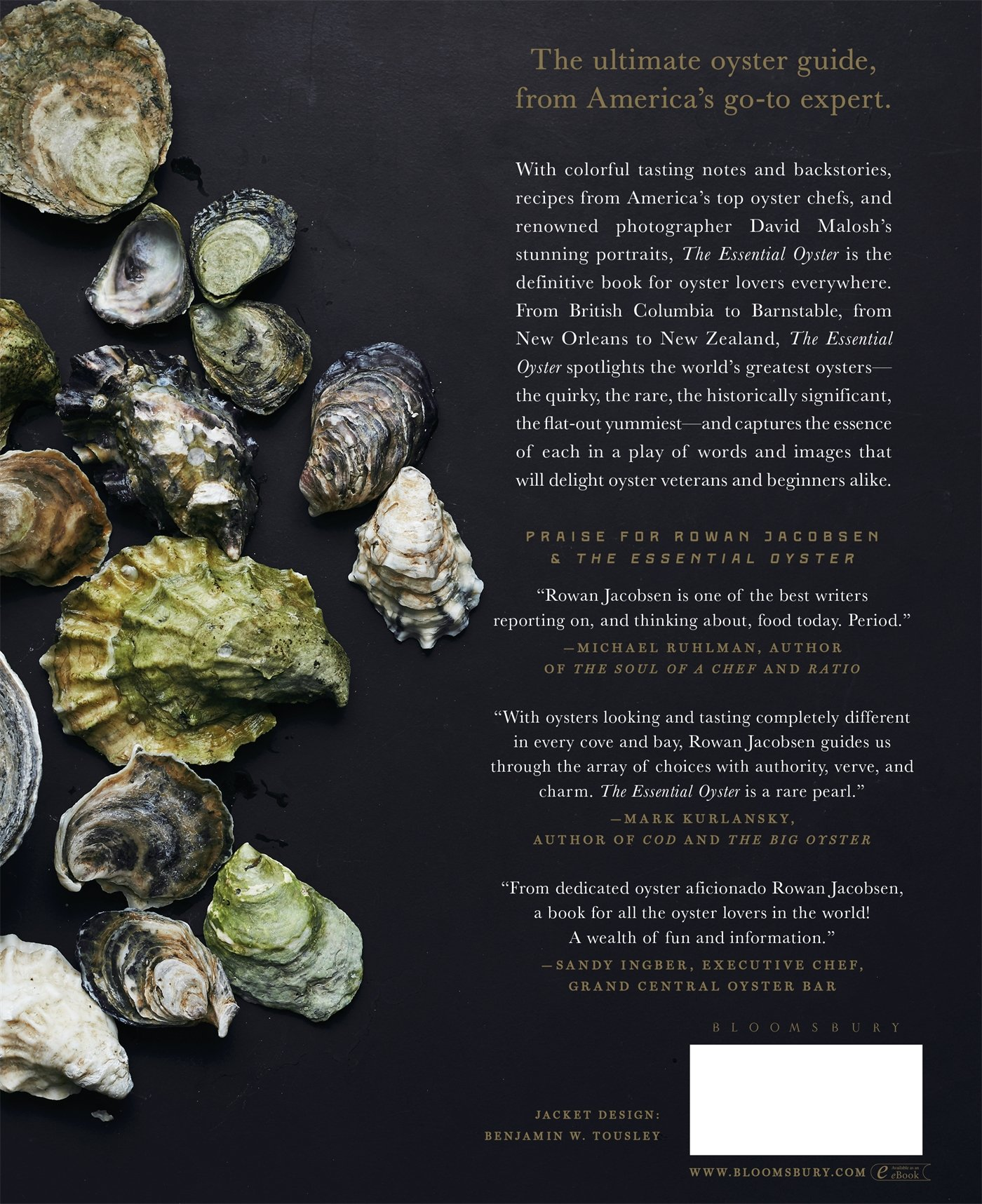 The Essential Oyster: A Salty Appreciation of Taste and Temptation: Rowan  Jacobsen: 9781632862563: Amazon.com: Books