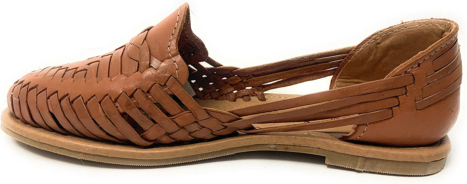 Mexican Closed Toe Leather Sandals Womend Original Huarache Sandals