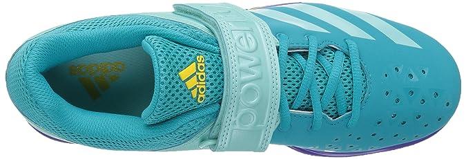 new arrival d648f 34440 Amazon.com   adidas Women s Powerlift 3 1W Cross Trainer Shoes, Blue 15  Medium US   Fitness   Cross-Training