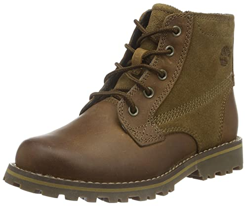 Timberland Boys' Asphalt Trail Ftk_Chestnut Ridge 6In Pt With Side Zip Cold Lined Classic Boots Half