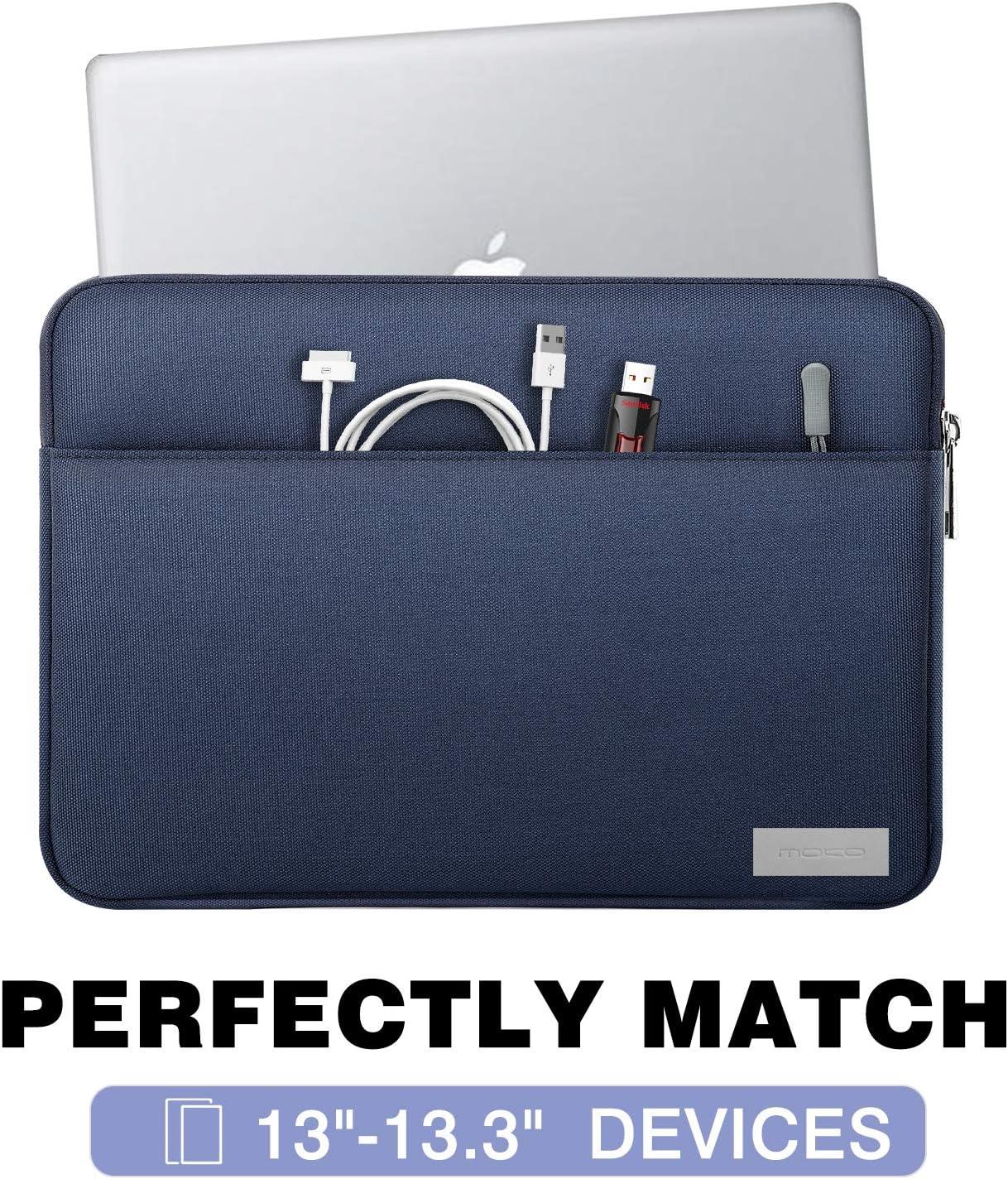 MoKo Sleeve Tasche f/ür Surface Pro 7//6//5//4//3 Rosa Grau Marmor Surface Pro X MacBook Air 11.6 Surface Pro LTE 12.3 Schutzh/ülle mit Rei/ßverschluss und 2 Tasche Tablet H/ülle aus Polyesterfaser