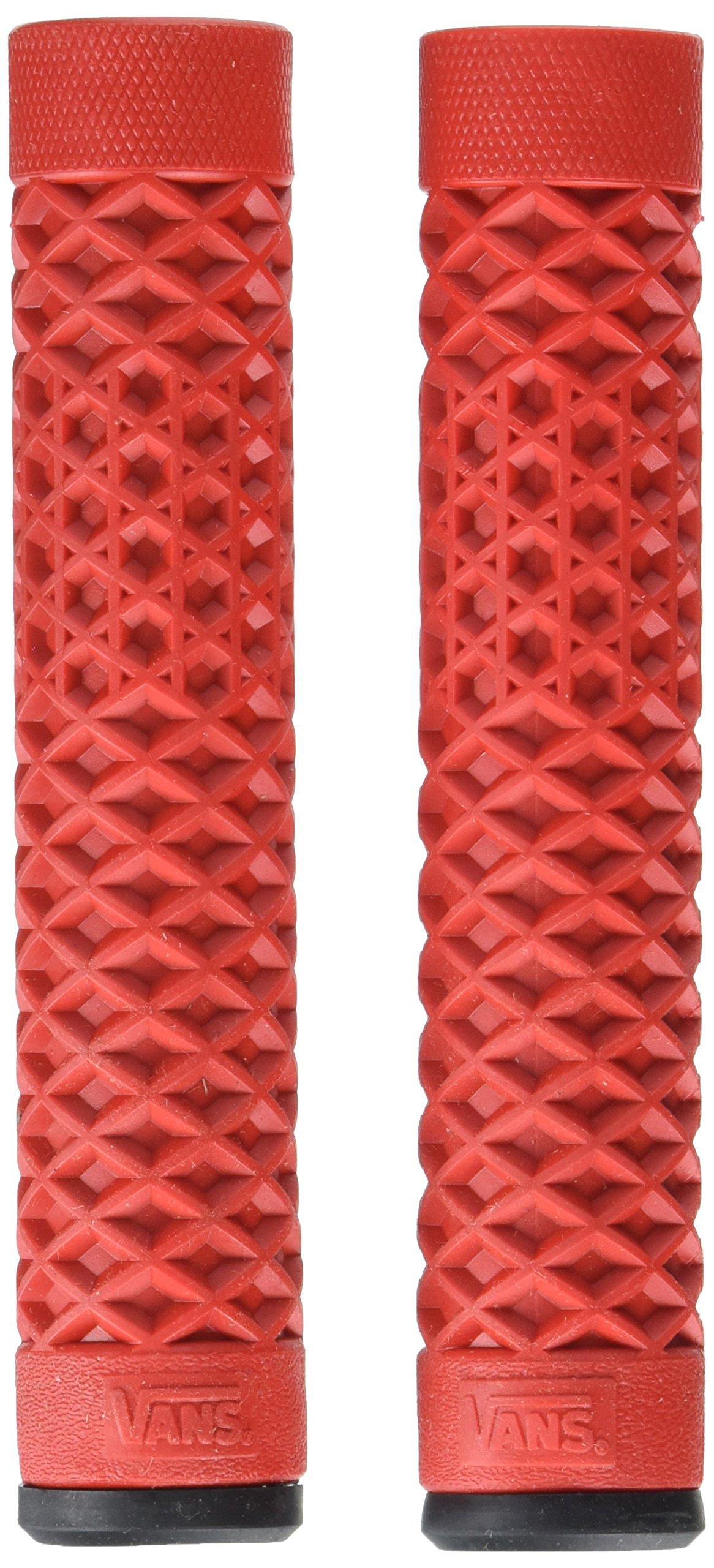 Vans x Cult Flangeless Bike Grips, Red by Vans