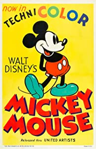 Mickey Mouse 1935 Disney Poster (11x17) Vintage Reproduction Movie Poster Wall Art Print