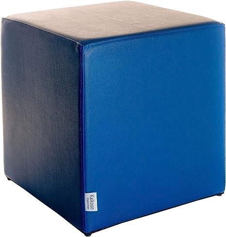 43 cm x 43 cm x 48 cm Sitzwürfel Kaikoon Blau Maße