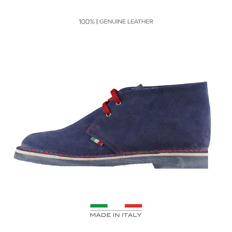 Made in Italia Herren Romano Desert Boots Blau