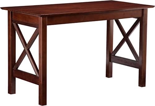 Atlantic Furniture Lexington Work Table, Antique Walnut