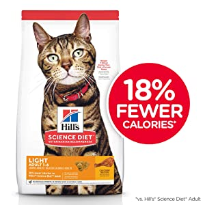 Hills Science Diet Light Chicken Dry Cat Food