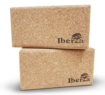 Iberia - Bloque de Yoga (2 Unidades) De Corcho ecológico 227 ...