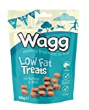 Wagg Low Fat Treats With Turkey and Rice 125 g (Pack of 7)