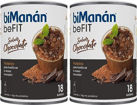 BiManán Pro - Batido Eco Chocolate, Pack de 1080 grs en Total - Batidos Sustitutivos de Comida - Hipocalórico e Hiperproteico con Vitaminas y ...