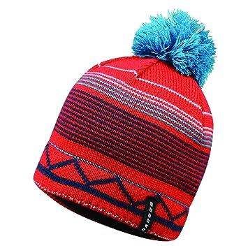 e8b456d3f Dare 2b Mens Ternate Acrylic Knit Fleece Lined Bobble Beanie Hat ...