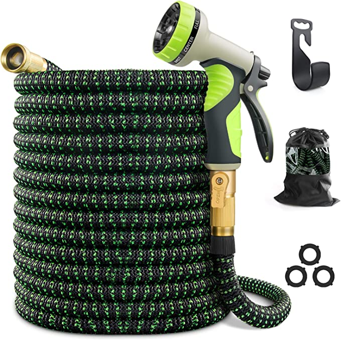 VIENECI 100ft Garden Hose - The Most Versatile