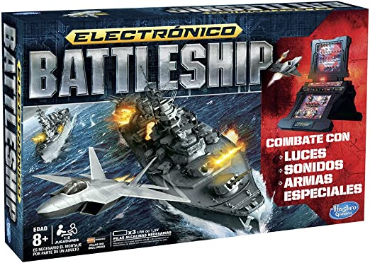 Hasbro Gaming - Juego de Estrategia Hundir la Flota, Juego electrónico (A3846105): Amazon.es: Juguetes y juegos