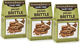 product image for AvenueSweets - Handcrafted Old Fashioned Dairy Free Vegan Nut Brittle - 3 x 7 oz Boxes - Pecan