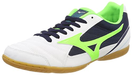 Mizuno Sala Club 2 In, Zapatillas para Hombre, Multicolor (Surftheweb/Syellow/Hcora 001), 46 EU