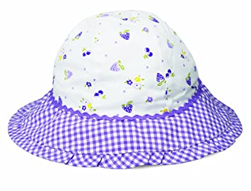 ecc5e1a333d Wallaroo Girl s Lorikeet Hat - Lavender berries  Amazon.co.uk ...