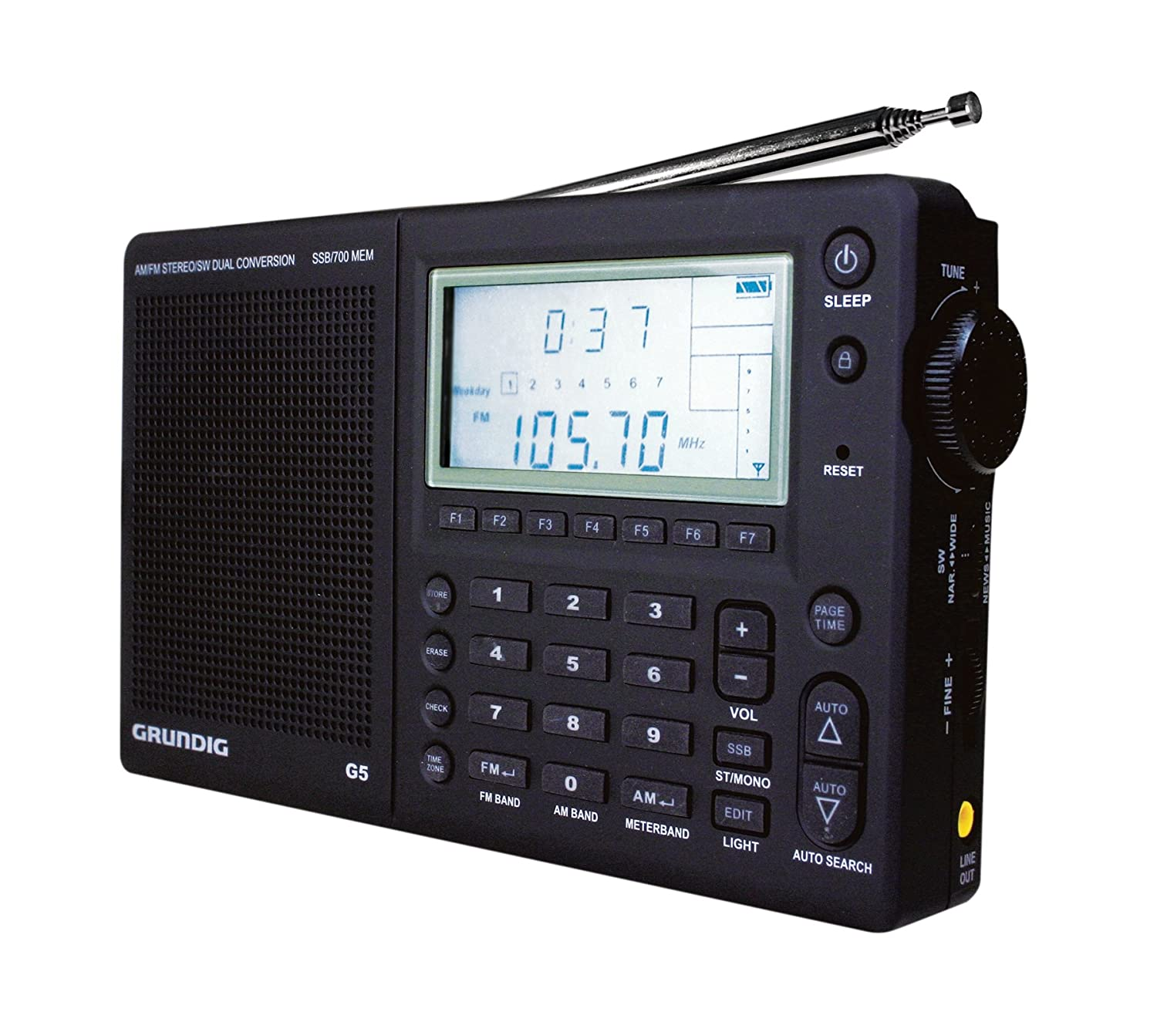 Grundig G5 Am Fm Shortwave Portable Radio With Ssb Simple Transmitter Circuit Use Your Mobile Phones Discontinued By Manufacturer Home Audio Theater