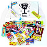 "The Fathers Day Retro Sweets Letter Box Extravaganza - 4 Designs Available & Personalisation! - By Moreton Gifts! (""No.1 Dad - (add your own name)"")"