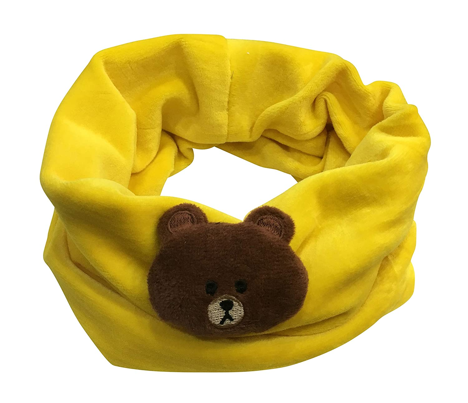 Central Chic Soft Fleece Children's Snood Scarf With Cute Designs