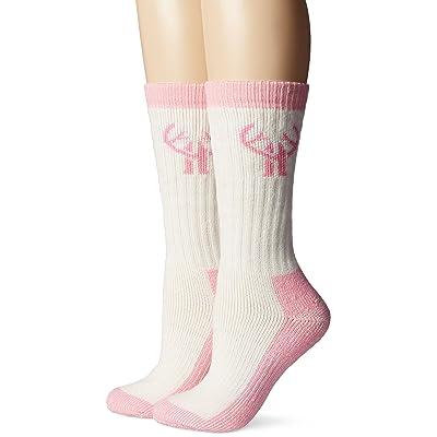 .com : 2 Pack Huntworth Heavyweight Wool Blend Boot Sock : Clothing