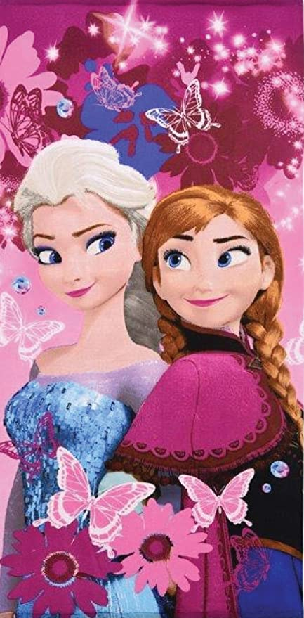 Reine des Neiges Frozen – Toalla de baño – toalla de playa Disney Frozen 100%