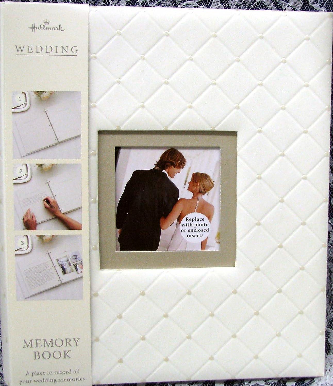 Amazon.com: Hallmark Wedding WCA2503 Happy Ever After Memory Book ...