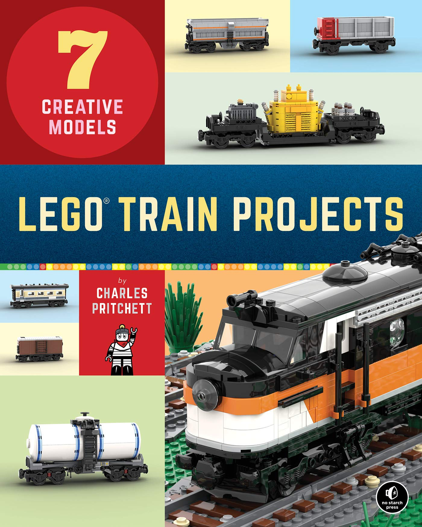 LEGO Train Projects: 7 Creative Models por Charles Pritchett