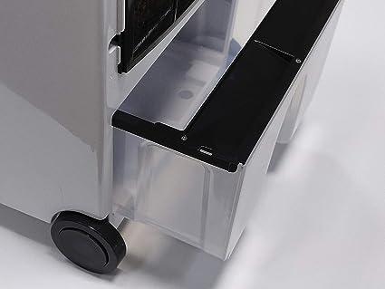 M Confort E1200 Climatizador Evaporativo Portátil, 130 Watts, 10 L ...