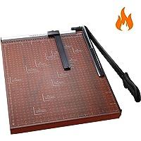 "Paper Trimmer A3 Paper Cutter Heavy Duty Photo Guillotine Craft Machine 12 inch Cut Length/A3-Red/18.9"" x 15.0"""
