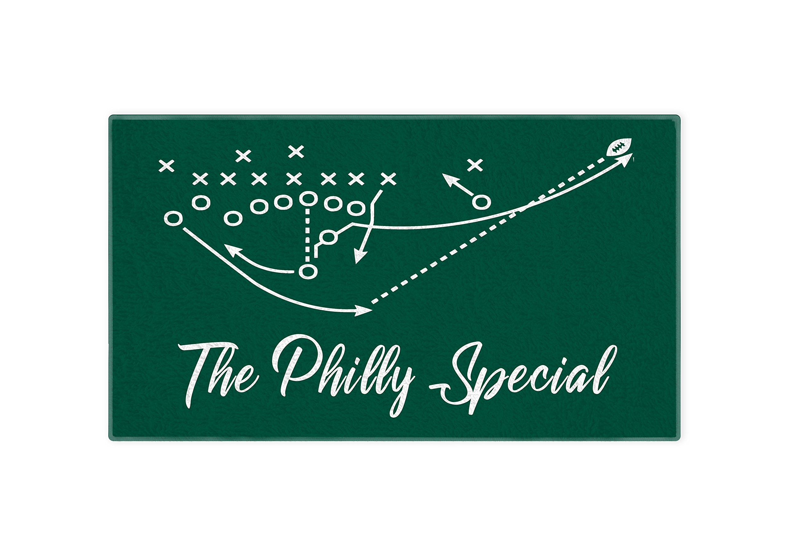 Personalized Corner Philadelphia Eagles Hand Towel 28x16 - Philly Special Super Bowl Champs - Football Mens Apparel Golf Bag Accessory