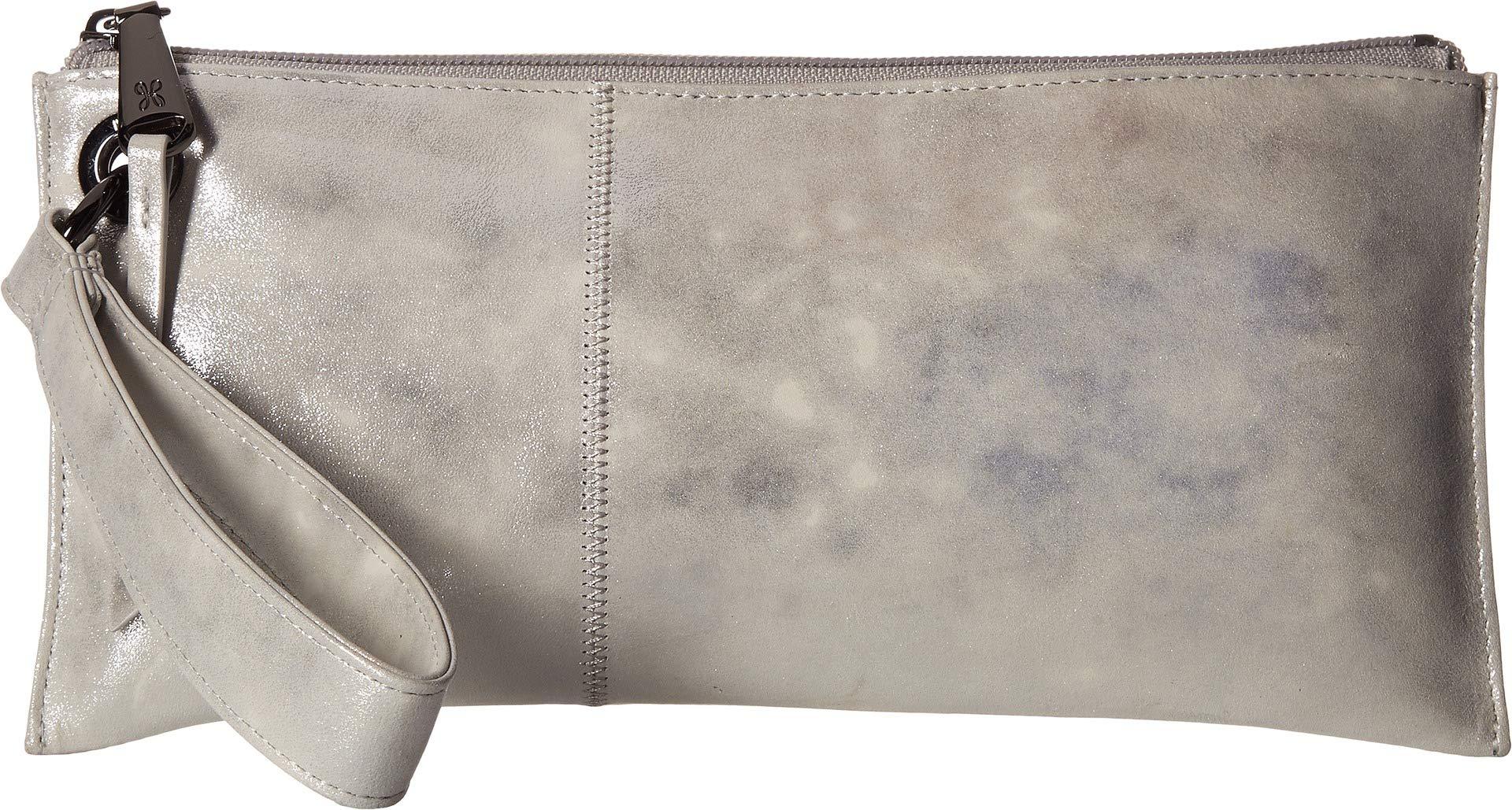 Hobo Womens Leather Vintage Vida Clutch Wallet (Snowglobe)