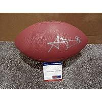 $236 » Signed Aaron Donald Football - LA w COA - PSA/DNA Certified - Autographed Footballs