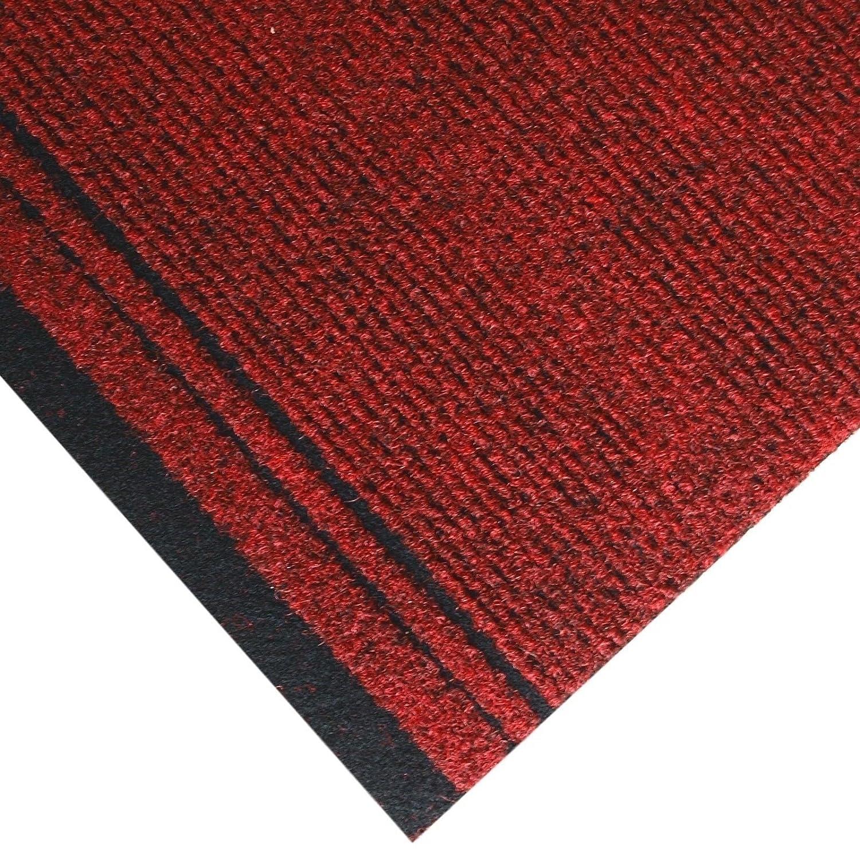 Beaulieu Premium Carpet Runners Non-Slip Rug Door Mat Hallway Kitchen (66cm x 1m, Brown)